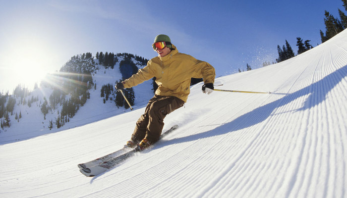 Xperience thumb responsive winter skiing
