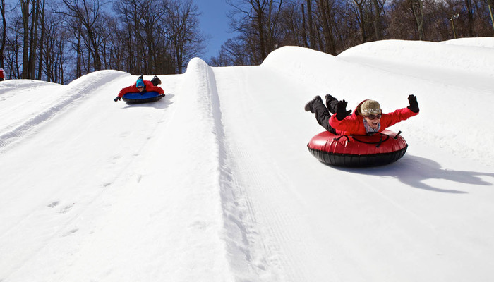 Xperience thumb responsive winter tubing