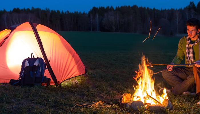 Xperience thumb responsive land camping
