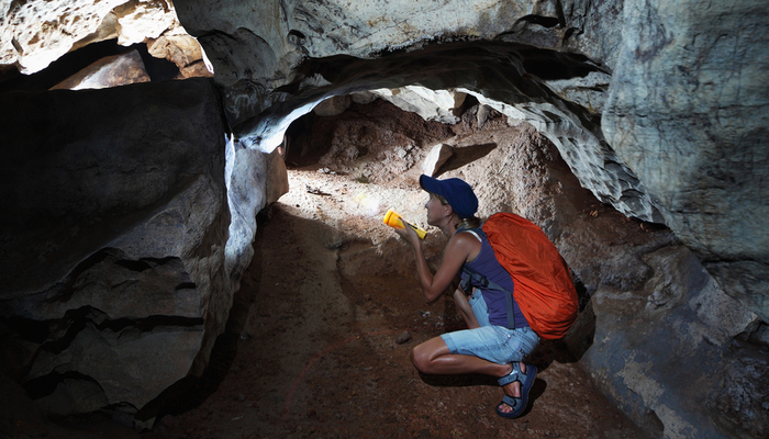 Xperience thumb responsive land caving