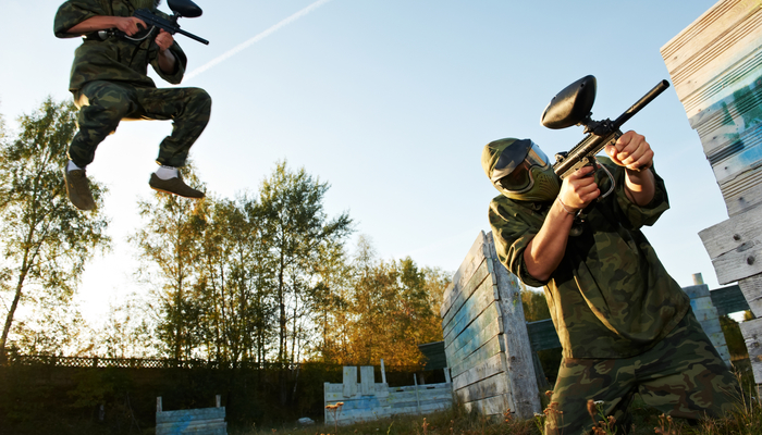 Xperience thumb responsive land paintball