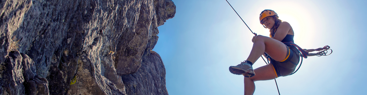 Slider xperience land rappeling