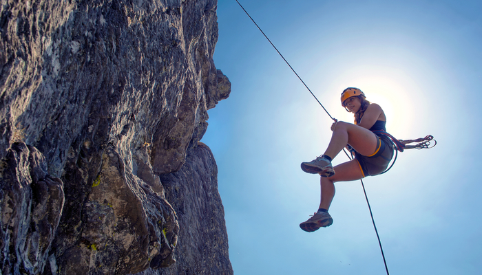 Xperience thumb responsive land rappeling