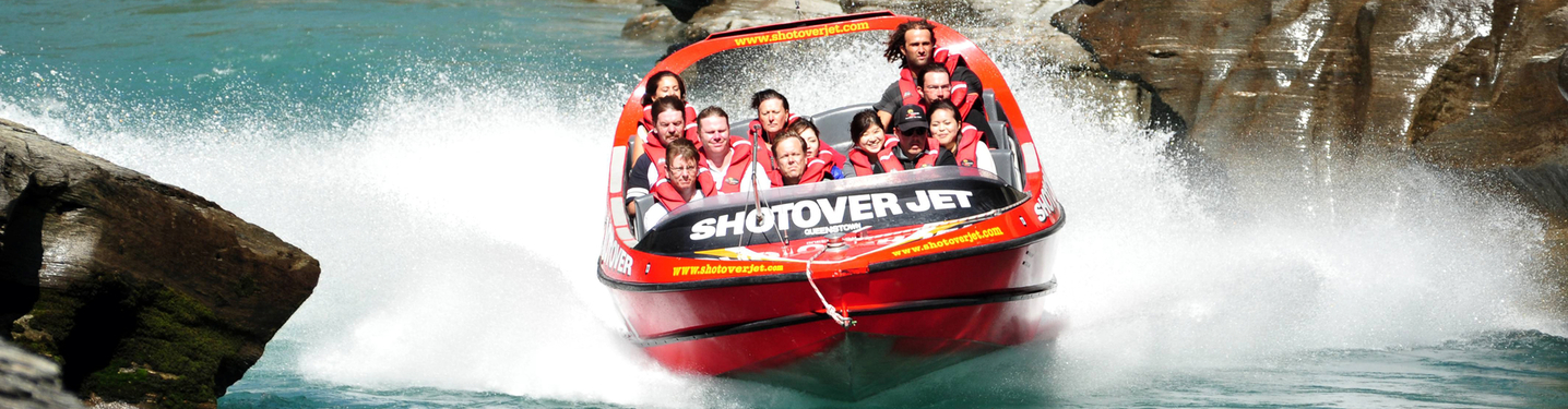 Slider xperience water jet boating