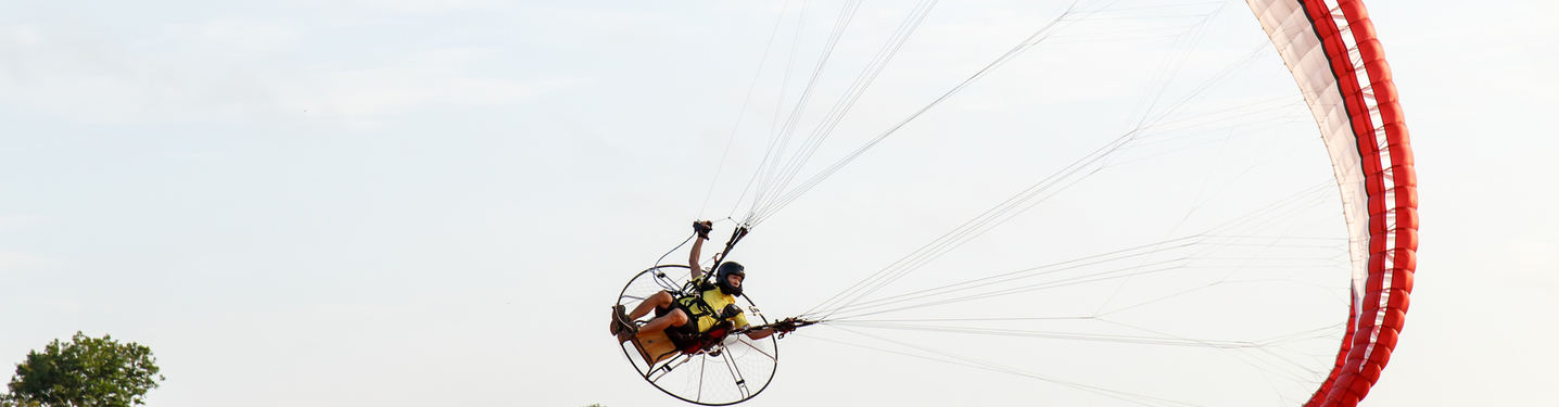 Slider xperience air power paragliding