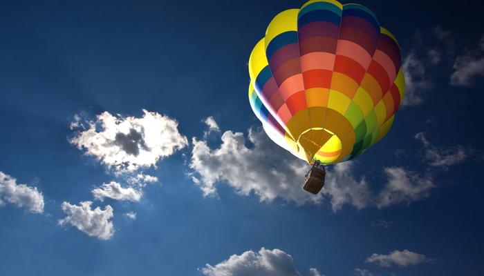 Xperience thumb responsive air hot air ballooning