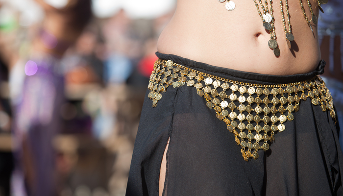 Xperience thumb responsive land belly dancing