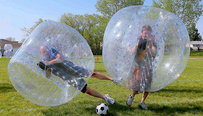 Xperience thumb responsive land bubblesoccer