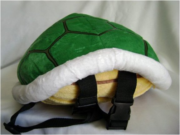 This is What XcitesMe ›› Gifts for Kids ›› Super Mario Koopa Shell Backpack 655f86a61b304