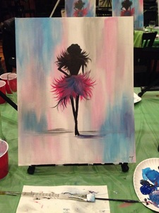 Paint Nite at Wegz