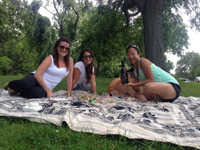 Picnic in Niagara-On-The -Lake