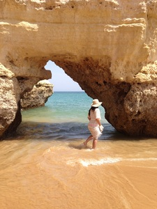 Exploring the beautiful beaches of Portugal